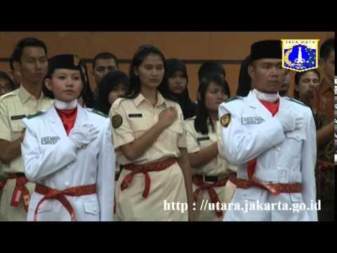 Wakil Walikota Kukuhkan 25 Pelajar Jadi Paskibraka