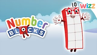 Numberblocks - Learn to Count | Counting to Ten | Wizz | Cartoons for Kids