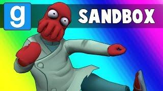Gmod Sandbox Funny Moments - Ragdoll Fighting Mode! (Garry's Mod)
