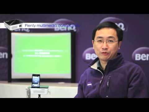 Mini projector introduction video, BenQ Joybee GP2