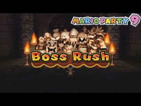 Mario Party 9 - Boss Rush