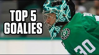 Top 5 Goalies | 2019 Fantasy Hockey Draft Kit