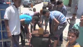 قصف مواقع حوثية بمنطقة الجراف