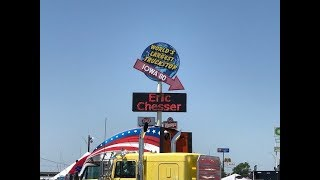 ( Vlog # 221 ) The Worlds Largest Truck Stop Tour  ( Iowa 80 )
