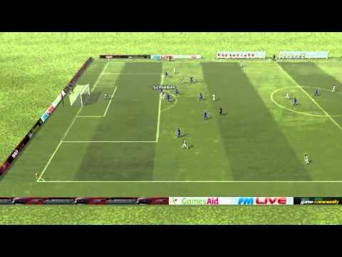 Stuttgart vs Curslack-Neuengamme - Schieber Goal 1st minute