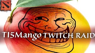 Double_Crosser Mother of Mangoes / TI5Mango raiding other channels on Twitch
