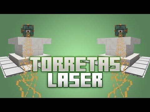 Minecraft 1.8 [Tutorial] Torretas láser con elder guardian [ Laser Turret - Elder Guardian]