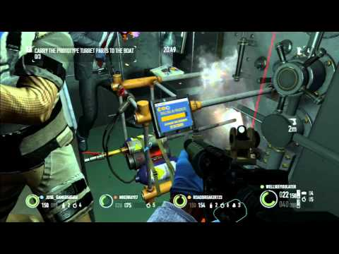 Payday 2 PS3 Part 173 (Bain: Transport: Park, Train Heist) Full Stealth [Hilarious]