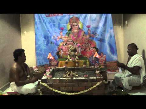 Akshaya Tritiya - Lakshmi Kubera Homam Part 1 From Vedicfolks video