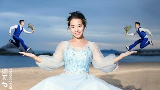 Hậu trường chụp ảnh cưới cực bá đạo - Tik tok china