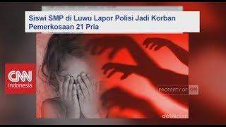 Bagaimana Kelanjutan Nasib Siswi SMP Yang Diperkosa 21 Pria?