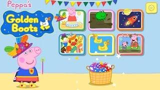 Peppa Pig Botas Doradas App Gameplay