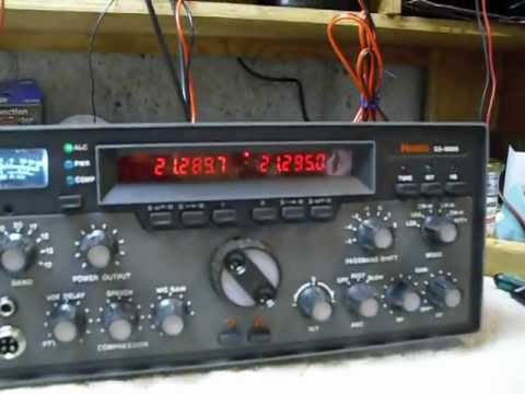 SS9000-7,fixing old amateur radios, SS9000 , rare Heathkit , Basket CASE SS9000