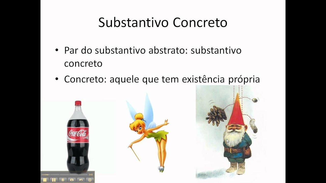 Oq e substantivo abstrato