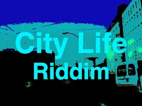 New 2013 Riddim Instrumental Dancehall Reggae Beats  - City Live Version By Dreadnut video