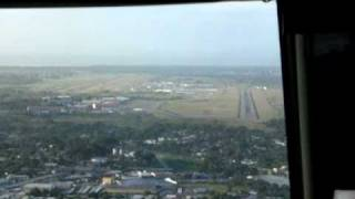 landing at Tocumen international airport
