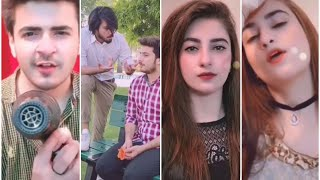 Pakistan Tiktok  @Mishal butt @Sherry Butt @Hassnain 07 new funny musically videos