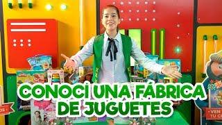 CONOCÍ UNA FÁBRICA DE JUGUETES  /  NATALY POP