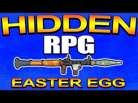 Secret RPG Easter Egg in Advanced Warfare - YOU CAN USE IT! (Call of Duty) COD AW | Chaos