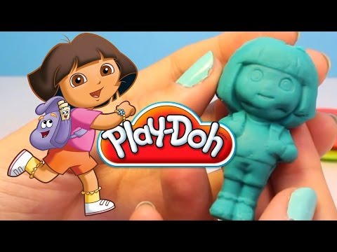 Play Doh Dora The Explorer Playset Playdough Hasbro Kit Play-doh Dora La Exploradora video