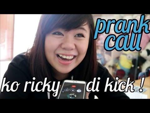 PRANK CALL ko ricky di kick ampe marah & curhat