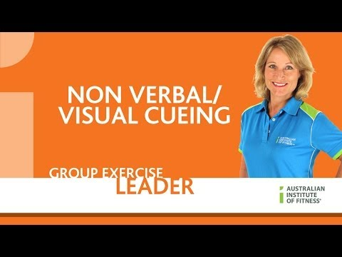 Group Exercise Leader - Non Verbal/Visual Cueing