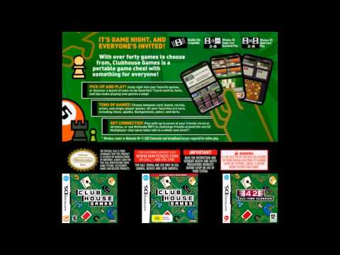 Clubhouse Games/42 All Time Classics OST Music - Main Menu