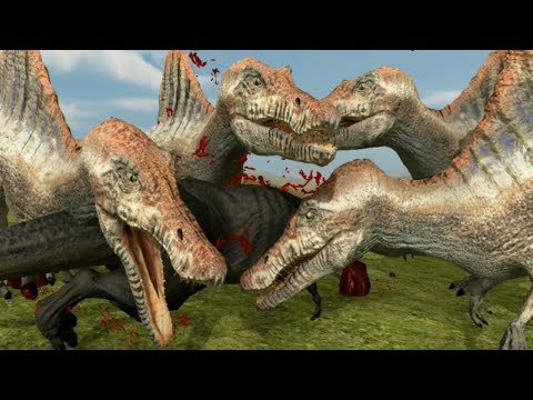 SUPER DINOSAUR FOOTBALL BATTLE DEATH MATCH!!!    Beast Battle Simulator   Ep2