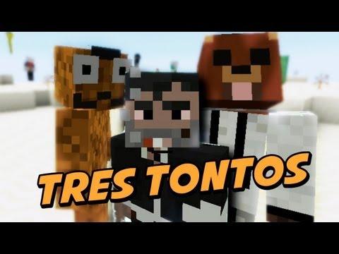 Tres Tontos Muy Tontos - Juegos del Hambre 3 - Minecraft