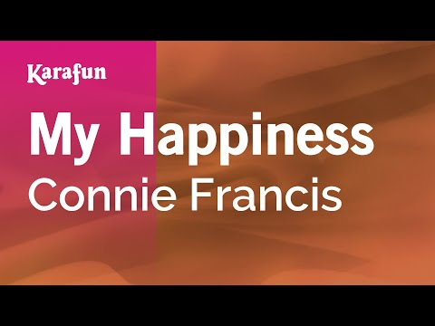 Karaoke My Happiness - Connie Francis *