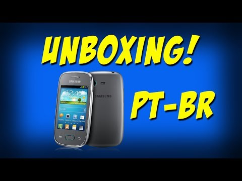Unboxing: Samsung Galaxy Pocket Neo (Pt-Br)