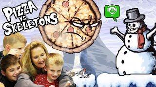 Pizza vs Skeletons Part 1 with HobbyFamilyGaming
