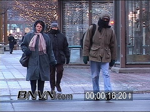 1/20/2004 Video of people in sub zero weather
