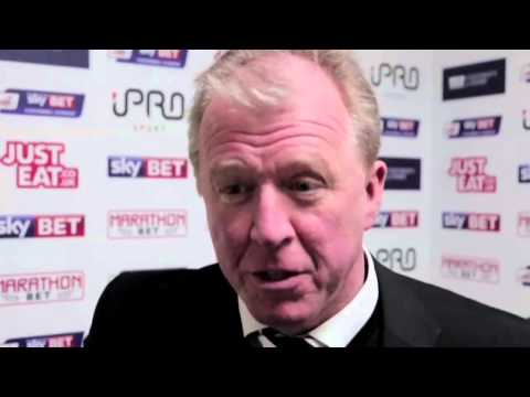 DERBY COUNTY 4 1 BOLTON WANDERERS | Steve McClaren Post Match