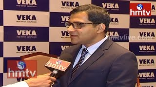 VEKA | Hyderabad UPVC Manufacturing Plant | MD Ashven Datla Interview | hmtv