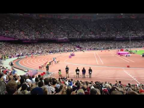 Men's 4 x 100 meters AMAZING WORLD RECORD at the London 2012 Olympics MUST WATCH!!!!!!!