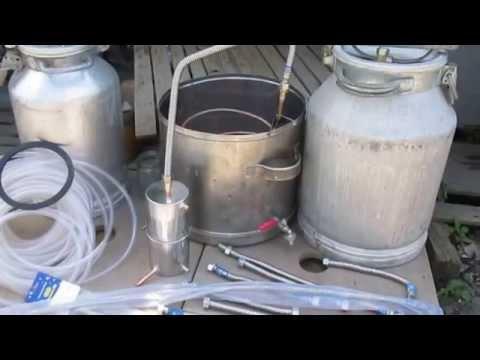71Самогонный аппарат своими руками без проточной воды видео