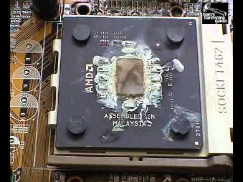 AMD Athlon Quemandose Exelemnte