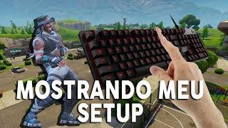 COMO CONSIGO CONSTRUIR NO F12 NO FORTNITE? MOSTRANDO SETUP