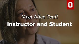 Meet Alice Teall: Instructor & Student