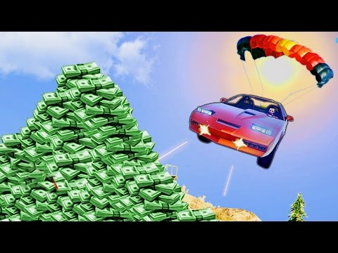 MY $6,000,000 KITT CAR!! Import/Export DLC NEW Vehicles Race (GTA 5 Funny Moments & FAILS)
