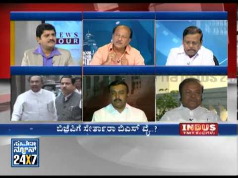 Will Yeddyurappa Join BJP  _ News Hour (ನ್ಯೂಸ್ ಅವರ್) @ 8 - Seg _ 2 - 05 Dec13 - Suvarna News