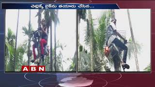 Mangaluru Farmer Invents Ingenious Motorbike to Climb Trees for Spraying Pesticides