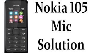 Nokia 105 RM 1134 Mic Solution Jumper