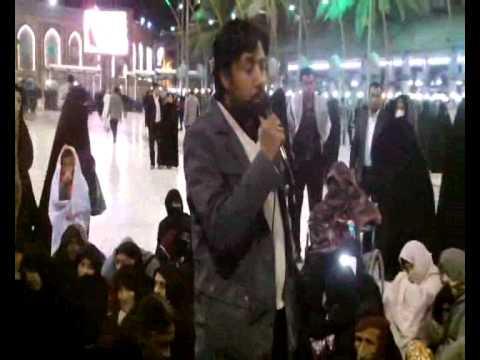 Zakir Taqi Abbas Qiamat  Majlis In Harm E Imam Hussain As Qafila 2015 Zuriyat Imran video