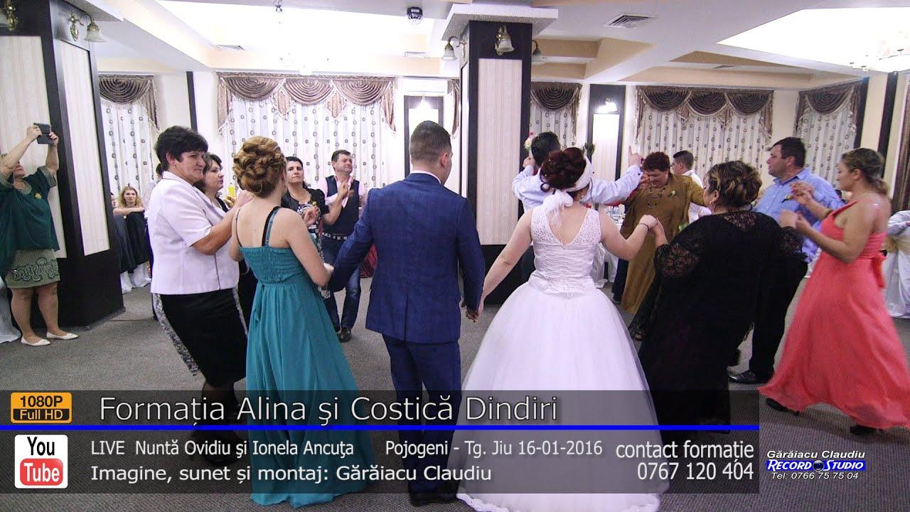 Formatia Alina si Costica Dindiri | Colaj HORA part.4 LIVE | Nunta Ovidiu si Ionela Ancuta