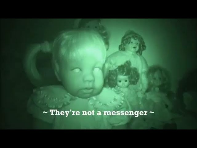 SCARY VIDEOS Real ghosts in the Haunted Doll Room (Roads Hotel) Scary videos of haunted dolls