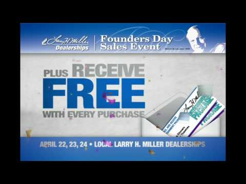 Larry H. Miller Dealerships Founder's Day Sales Event