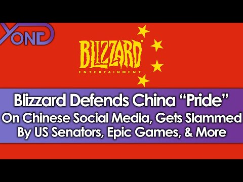 "Blizzard Defends China ""Pride"", Gets Slammed By US Senators, Epic Games, College Players, & More!"