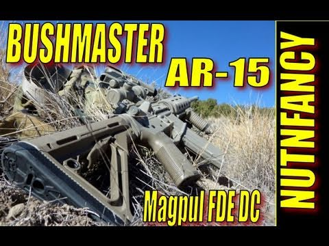 Bushmaster AR-15 in ACTION:  Reliable. Tough (in Magpul FDE DuraCoat)